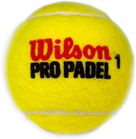 Wilson Pro Padel - Pelotas Bote de pádel, 3 Unidades: Amazon.es ...