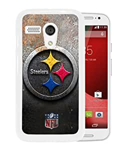 Newest And Fashionable Motorola Moto G Case Designed With Pittsburgh Steelers 30 White Motorola Moto G Screen Cover High Quality Cover Case
