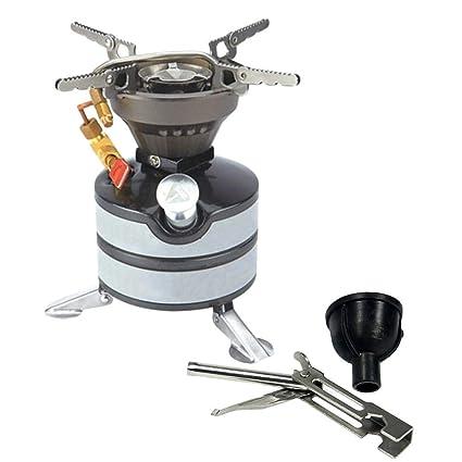 450ml Estufa líquida Combustible, estufa de quemador portátil para acampar al aire libre Estufa de