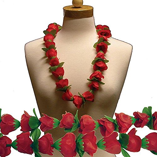 Red Rose Silk Flower 36