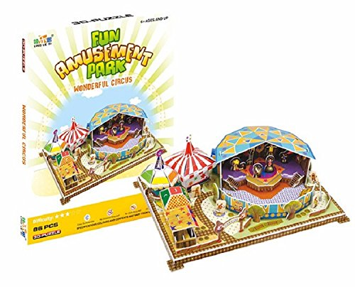 Big Daddy's 3-D Puzzel Building Set, Fun Amusement Park Series, Create A -