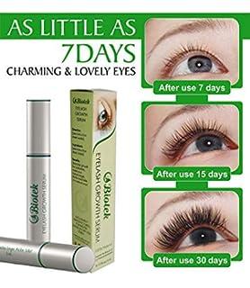 2711764b5dc Biotek Eyelash Growth Serum, Double Sized 5ml- natural lash treatment for  Longer, Fuller