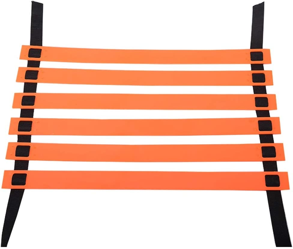 Escalera de velocidad Agility Speed Ladder for Football Orange Color, Training Fast Footwork Agility Drills Set de Entrenamiento de Escalera de Coordinación de Ayuda (Tamaño : 4m): Amazon.es: Hogar