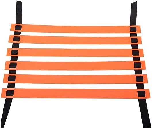 Escalera de velocidad Agility Speed Ladder for Football Orange Color, Training Fast Footwork Agility Drills Set de Entrenamiento de Escalera de Coordinación de Ayuda (Tamaño : 4m): Amazon.es: Hogar