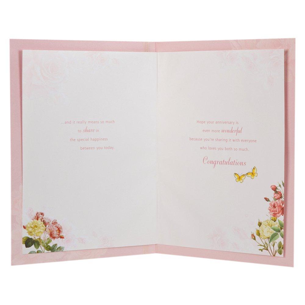 Hallmark - Tarjeta de felicitación para aniversario de bodas (para ...