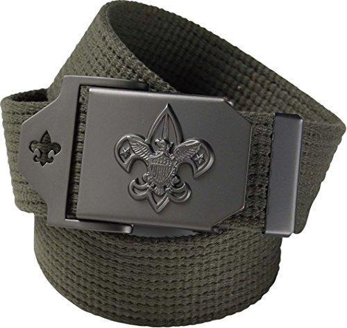 """Boy Scout Uniform Belt - Official BSA Apparel (32"""")"""