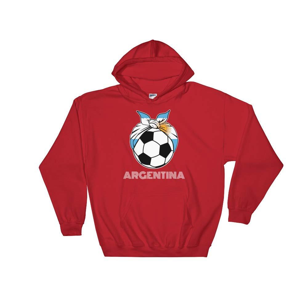 Amazingly Good Products Argentina Womens Soccer Kit France 2019 Girls Football Unisex Hooded Sweatshirt