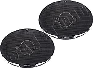 Kenwood KFC-6985PS 6 x 9 Inches Performance Series 4-Way Coaxial Speakers, Set of 2