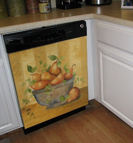 Pears Custom Dishwasher Cover Panel
