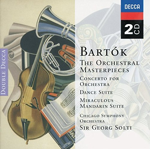 Bartok: The Orchestral Masterpieces - Concerto for Orchestra / Dance Suite / Miraculous Mandrian Suite / Music for Strings, Percussion & Celeste ()