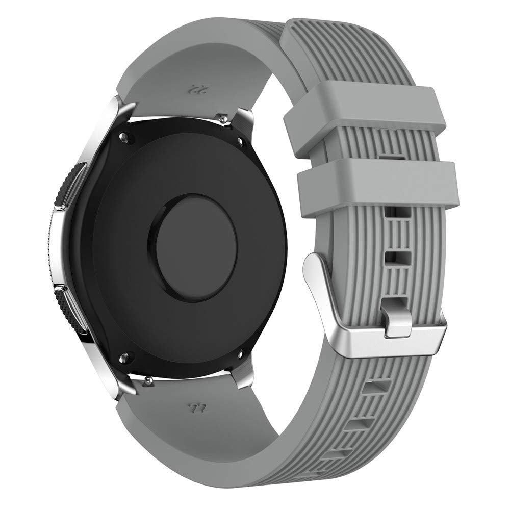 Amazon.com: Saying 22 mm Pure Color Silicone Watch Bands for ...