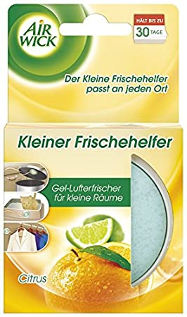 Air Wick Kleiner Frischehelfer Citrus, 6er Pack (6 x 30 g)
