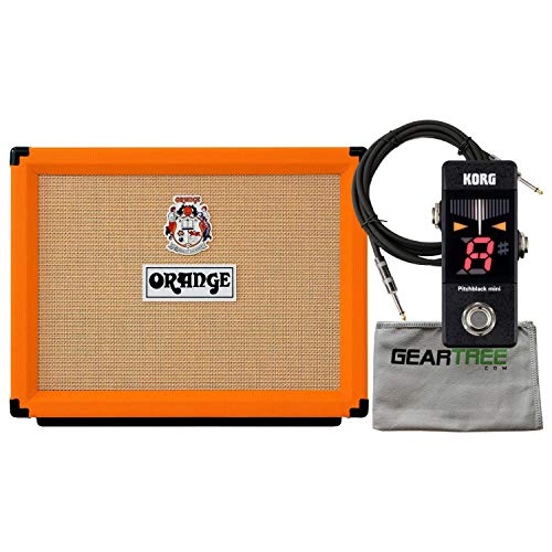 (Orange Rocker 32 Combo Amp (with 2 x 10 Inch Gold Label Speaker) w/Cloth, Cable)
