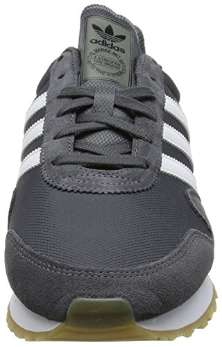 adidas Unisex-Erwachsene Haven Sneaker Grau (Grey Five/footwear White/gum)