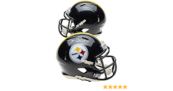 Devin Bush Pittsburgh Steelers Signed Autograph Speed Mini Helmet Fanatics Authentic Certified