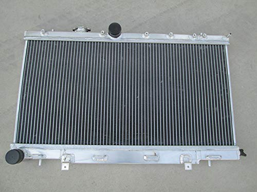 3 Row Aluminum Radiator for Subaru Impreza WRX STI GG GD 1.6L/2.0L/2.5L 2002-2007