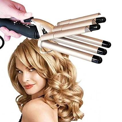 FuturPrint SONAR F Plancha rizador de cabello tubos para ondas W efecto