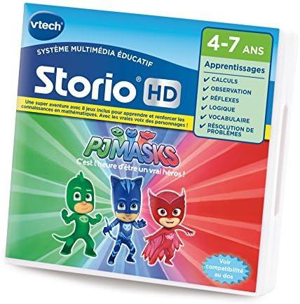 Vtech – 271105 – Juego de PJ Masks para Storio HD