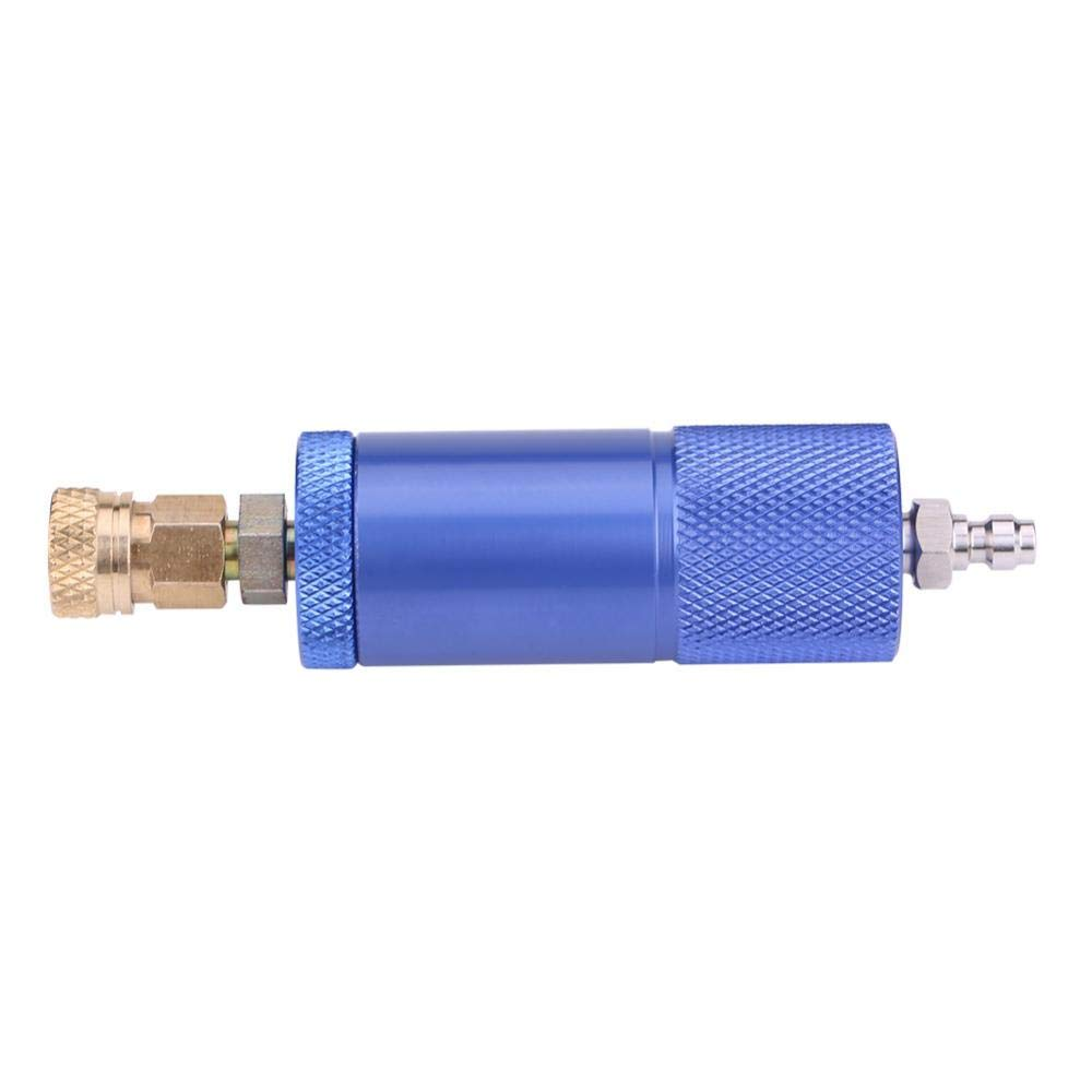 KIMISS Aluminum Set of Air Compressor Filter Moisture Water Trap Oil-Water Separator Regulator with Female/&Male Thread