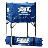 Tachikara Collapsible Ball Cart with Nylon Carry Bag, Royal