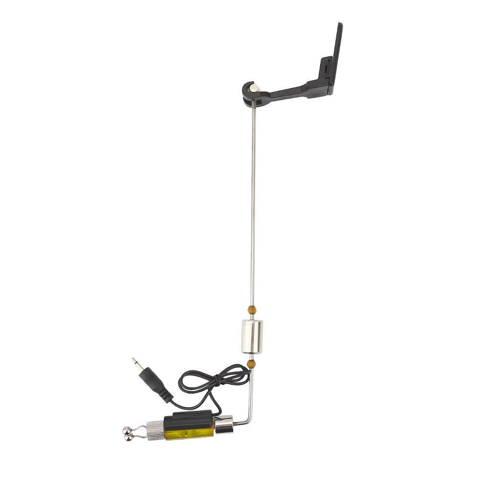 VGEBY - Juego de alarma de picada de pesca, indicador luminoso LED, alarma de ácaros de carpas, Yellow Light: Amazon.es: Deportes y aire libre
