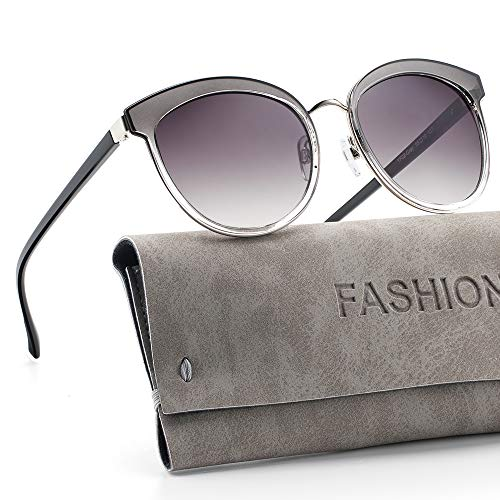 (Avoalre Vintage Polarized Sunglasses for Women & Men, UV400 Protection, Fashion Lightweight Durable Frame)