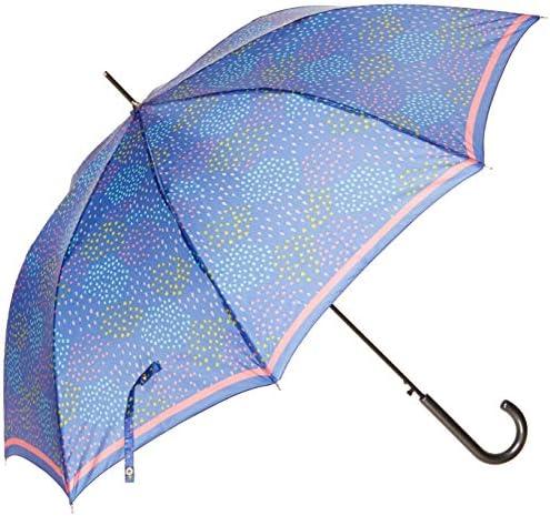 [ムーンバット] MOONBAT(ムーンバット) ミックスファクトリー 婦人ジャンプ長傘 しずくハート柄 レディース