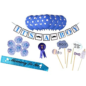 Amazon.com: Baby Shower Decorations Kit For Boys: Health ...