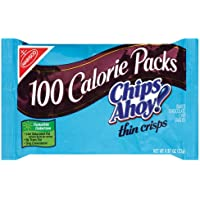 100 Calorie Packs Chips Ahoy! Thin Crisps, 0.81-Ounce Packs (Pack of 72)