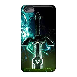 JohnPrimeauMaurice Apple Iphone 6s Shock Absorption Hard Cell-phone Cases Provide Private Custom Trendy Zelda Sword Pictures [Jaf2799BoHA]