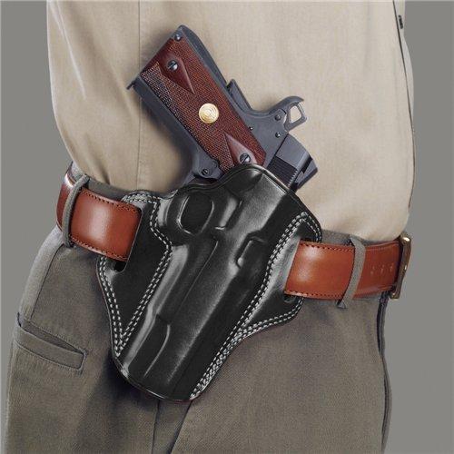 Glock Combat Holster (Galco CM800B Combat Master Belt Holster for Glock 43, RH, Black)