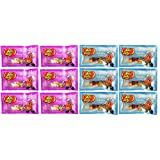 Jelly Belly Kids Mix Easter Jelly Beans and Bunny Corn Easter Candy Corn Pack of 12 (1 Ounce Bags)