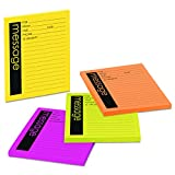 Post-it Notes Super Sticky 76794SS Self-Stick Message Pad, 3 7/8 x 4 7/8, Rio de Janeiro Colors, 50-Sheet Pad (Pack of 4 Pads)
