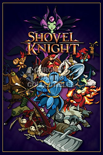 CGC Huge Poster - Shovel Knight - PS3 PS4 XBOX 360 ONE Nintendo 3DS WII U - SHK007 (24