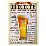 20x30cm Vintage Metal Tin Sign Plaque Wall Art Poster Cafe Bar Pub Beer #4