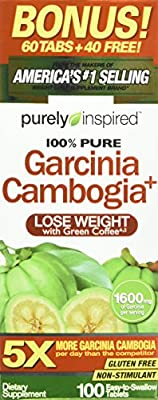 Purely Inspired Garcinia Cambogia Plus Tablets, 100 Count