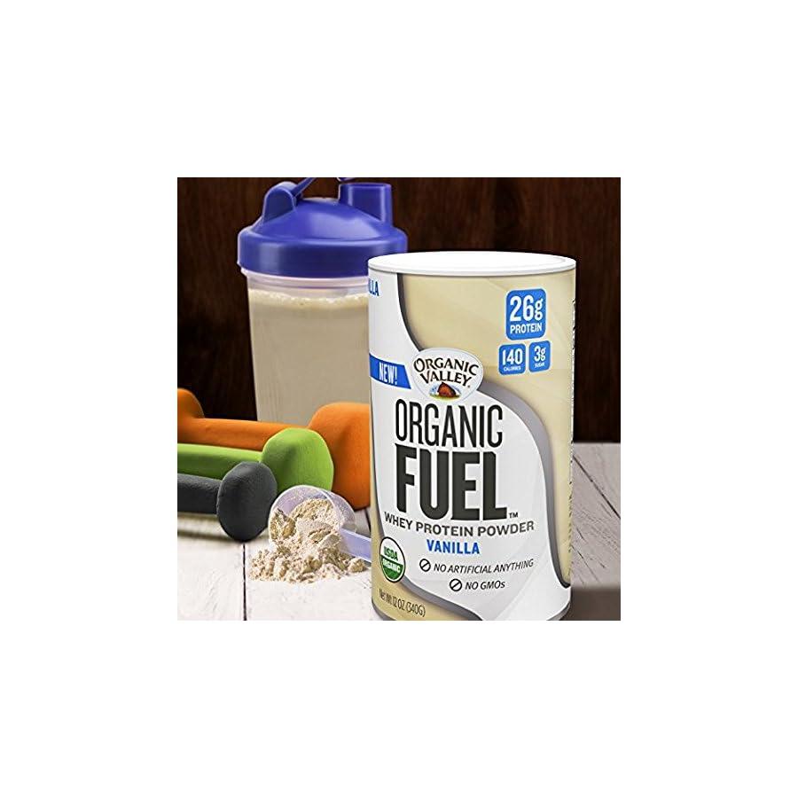 Organic Valley, Organic Fuel, High Protein Milk Shake, Chocolate, 11oz, 12 Pack
