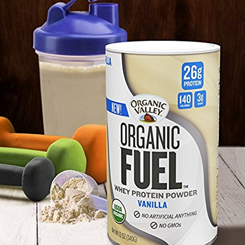 Organic Valley, Organic Fuel, High Protein Milk Shake, Chocolate, 11oz, 12 Pack