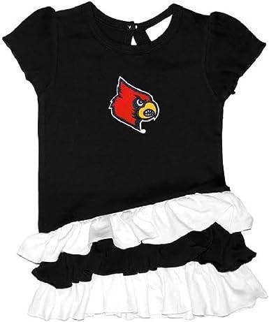 Two Feet Ahead Girls Virginia Tech Hokies Bias Ruffle Shirt /& Leggings