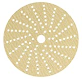 Sunmight 58606 1 Pack 6'' Multi Hole Velcro Disc (Gold Grit 80)