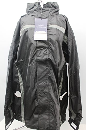 Result Aqua-Tech High Performance Team Jacket (Schwarz/Grau, Größe XL)