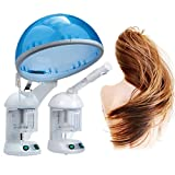 Facial Steamer Ozone Use - GARYOB 2 in 1 Hair and Facial Steamer Humidifier Portable Hot Ozone Face Moisturizing for Salon Spa or Home Use