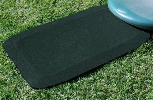 KIDWISE 1.5 Inch Fanny Pads - Black Rubber Safety Mats (Set of 2) by KIDWISE