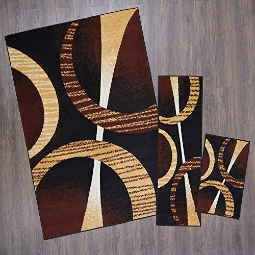 Home Dynamix Ariana Arcata Area Rug 3 Piece Set (4'11