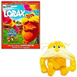 Dr. Seuss The Lorax Movie Party Set (Includes Lorax Movie (2 Discs -- Blu-Ray and DVD) and Lorax Plush Toy)