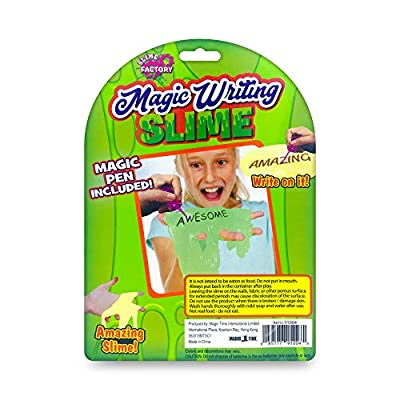 SLIME FACTORY Magic Writing Slime: Toys & Games