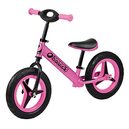 Hauck Aluminum Rider Balance Bike- Pink