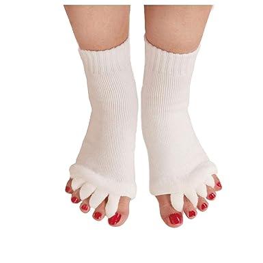 Hotaden Yoga para Mujer Toeless Calcetines De Gimnasia ...
