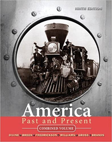 Amazon america past and present combined volume 9th edition amazon america past and present combined volume 9th edition 9780205697069 robert a divine t h breen george m fredrickson deceased fandeluxe Gallery
