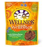 Wellness WellBites Dogs Treats, Lamb and Salmon, 8-Ounce Pouch, My Pet Supplies